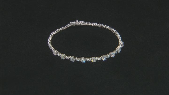 Moissanite Platineve Bracelet 2.27ctw DEW.