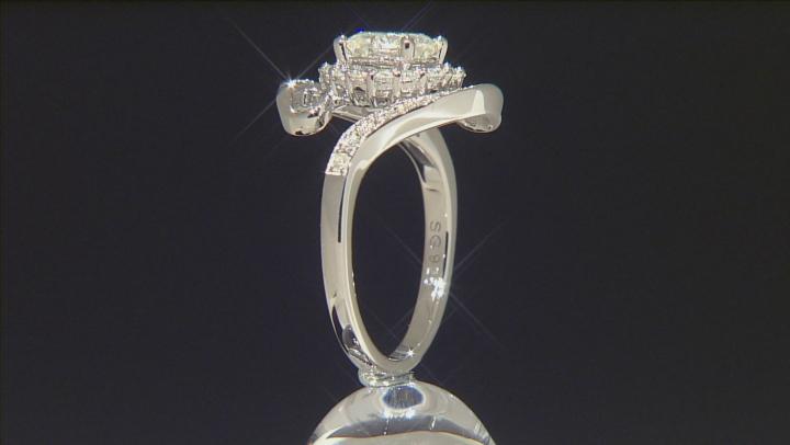 Moissanite Fire® 1.65ct Diamond Equivalent Weight Round, Platineve™ Ring