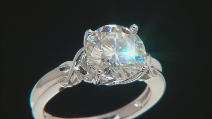 Moissanite Ring Platineve 3.60ct