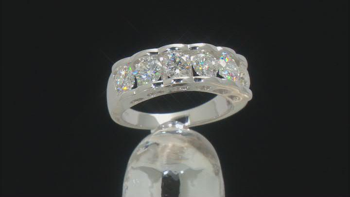 Moissanite Platineve Ring 1.98ctw DEW