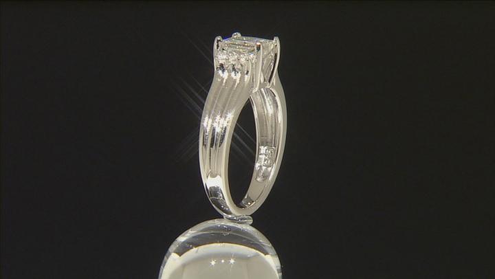 Moissanite Platineve Ring 1.82ctw D.E.W