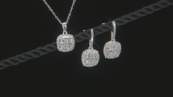 Monture Diamond Collection™ Silver Jewelry Set .75ctw