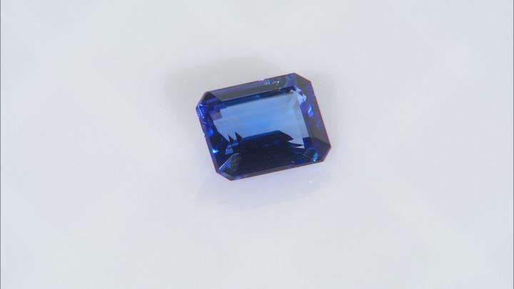 Tanzanite 10.5x8.5mm Emerald Cut 4.00ct