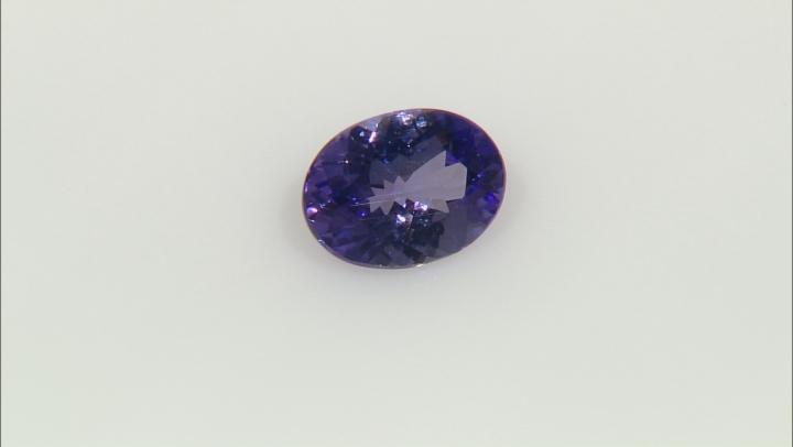 Tanzanite 8.5x6.5mm Oval 1.25ct