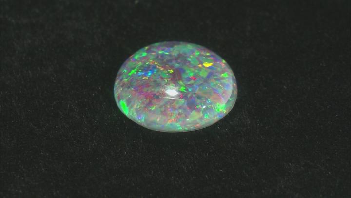 Australian Opal Triplet 14x12mm Oval Cabochon