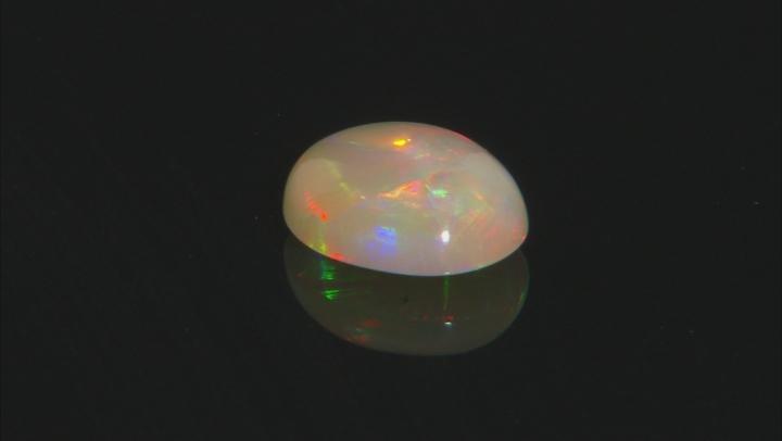 Ethiopian Opal 11x9mm Oval Cabochon 2.00ct