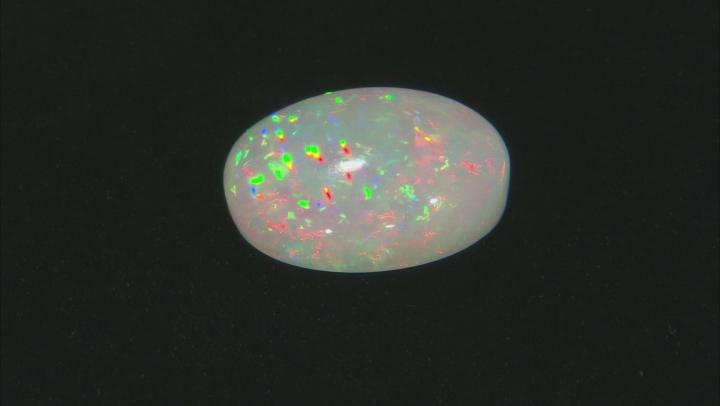 Ethiopian Opal 24.76x21.52mm Oval Cabochon 27.39ct
