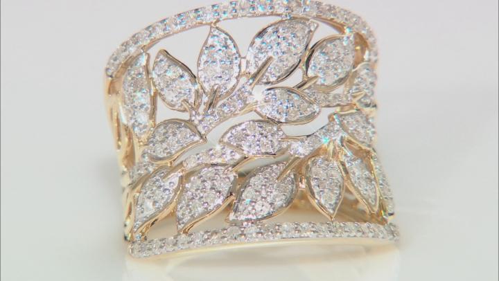 White Diamond 14k Yellow Gold Ring 1.00ctw