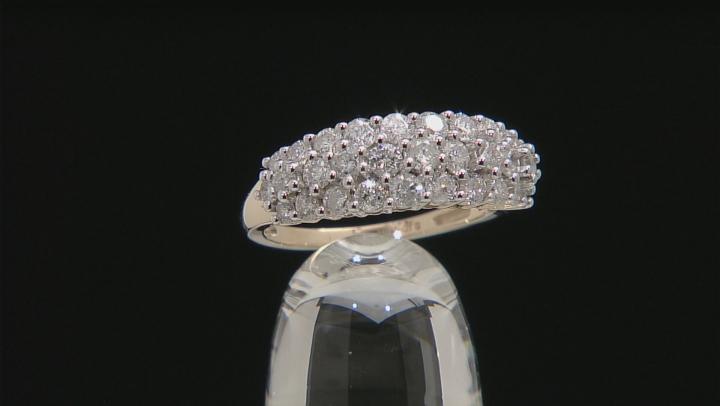 White Diamond 10k Yellow Gold Ring 1.55ctw
