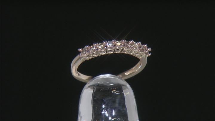 Champagne Diamond 10k Yellow Gold Ring .45ctw