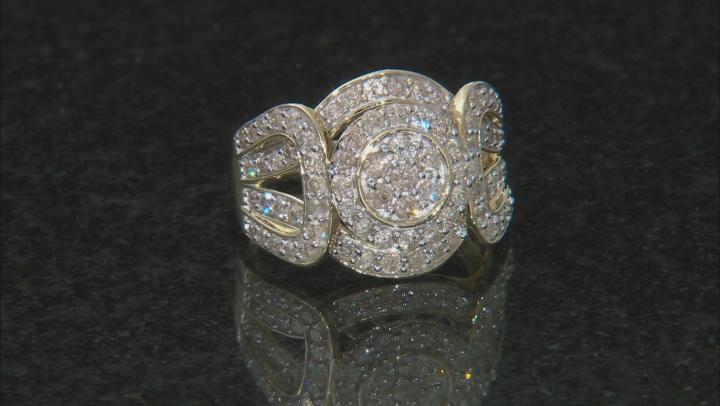 Candlelight Diamond™ 10k Yellow Gold Ring 1.50ctw