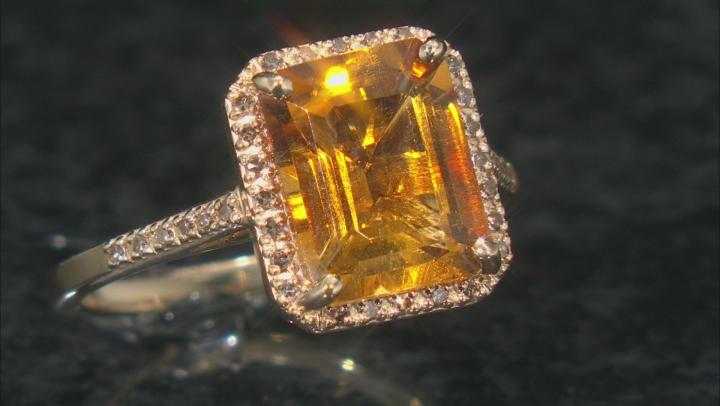 Golden Citrine 10k Yellow Gold Ring 2.68ctw