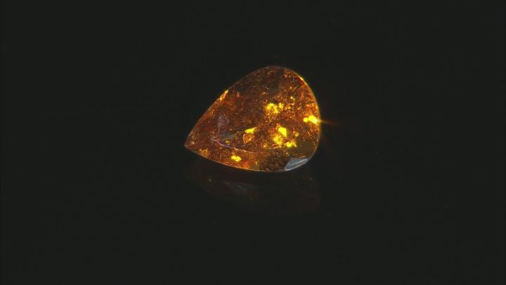Spessartine Garnet 8x6mm Pear Shape 1.25ct