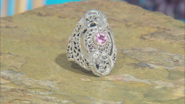 Purple Pale Plum™ Mystic Topaz® Sterling Silver Ring 0.51ctw