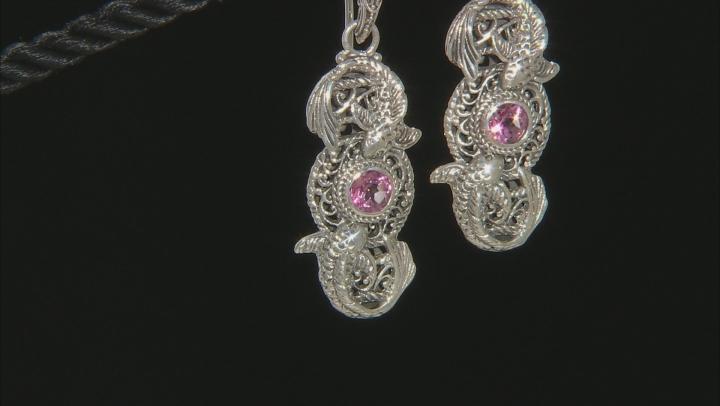 Purple Pale Plum™ Mystic Topaz® Sterling Silver Earrings 1.02ctw
