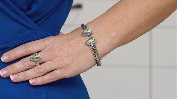 Multicolor Zero Saturn™ Mystic Quartz® Silver Bracelet