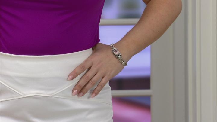 Always True Rose™ Mystic Quartz® Silver Bracelet 3.83ctw