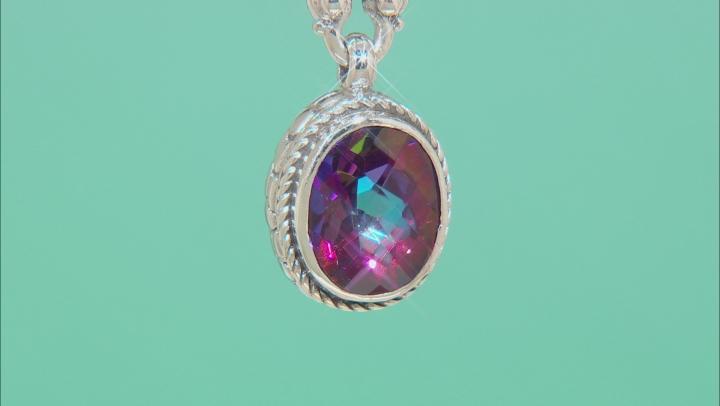 Purple Xanadu™ Mystic Quartz® Silver Bracelet 2.98ctw
