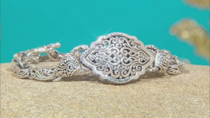 Sterling Silver Filigree Bracelet