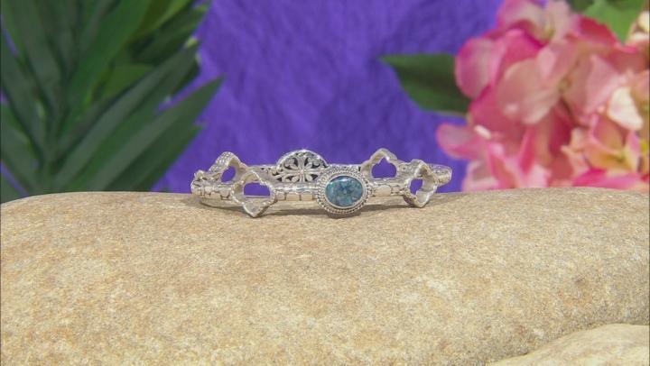 Multicolor Opal Doublet Silver Bracelet