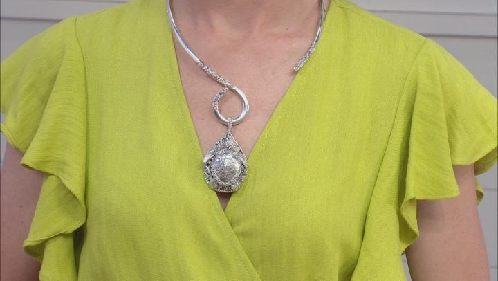 "Sterling Silver ""Sun- Kissed Turtle"" Pendant"