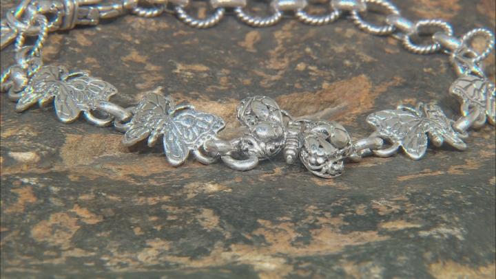 "Sterling Silver ""Transforming"" Butterfly Bracelet"