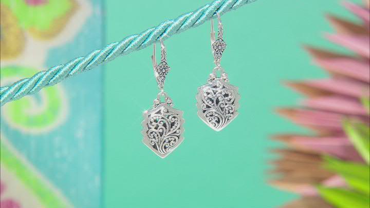 "Sterling Silver ""Surpasses All Knowledge"" Earrings"