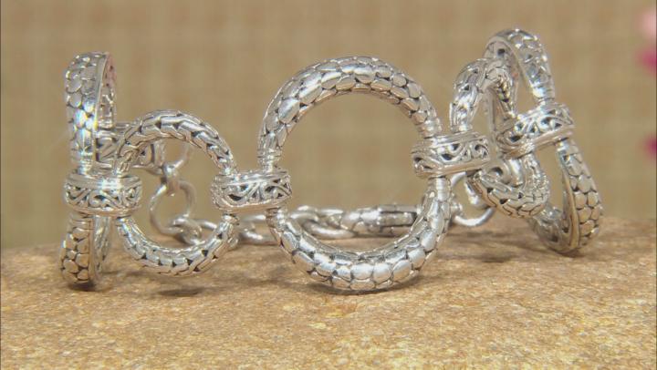"""Sterling Silver """"Adorn"""" Link Bracelet"""