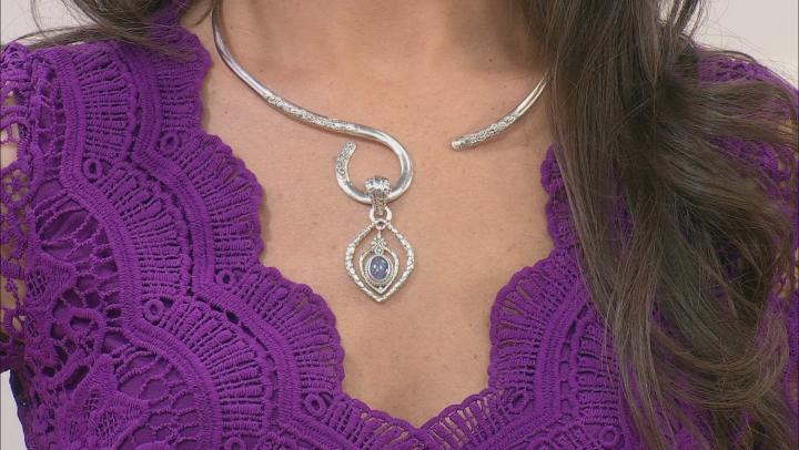 Australian Opal Triplet Silver Pendant