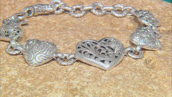"""Sterling Silver """"Love Never Ends"""" Bracelet"""