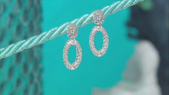 """Sterling Silver """"Renewed Faith"""" Earrings"""