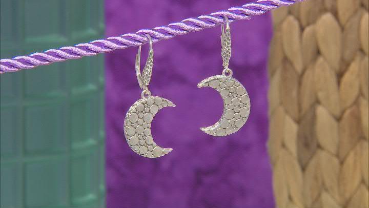 """Sterling Silver """"Wonderful Light"""" Earrings"""