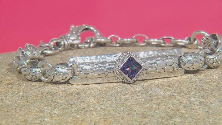 Purple Ivy™ Topaz Sterling Silver Bracelet .85ct
