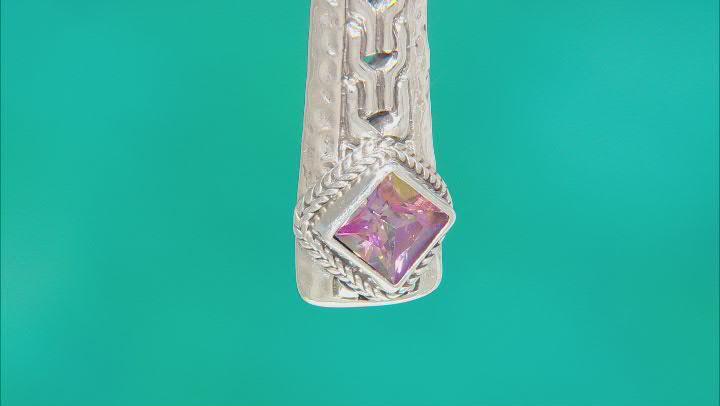 Bali Sunrise™ Topaz Silver Enhancer Pendant 1.15ct