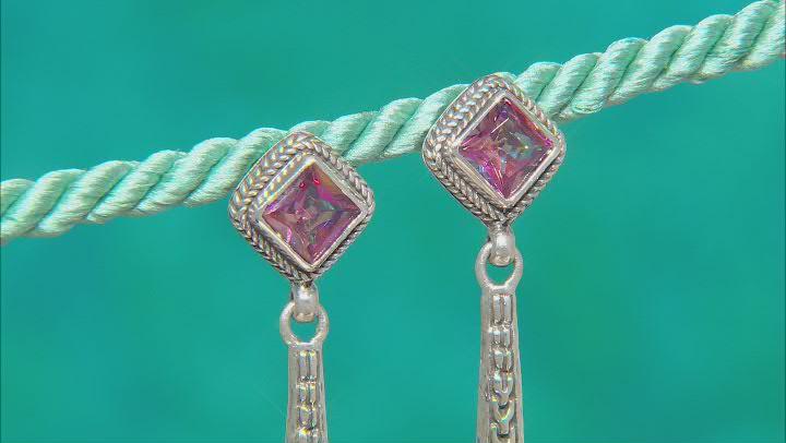 Bali Sunrise™ Topaz Sterling Silver Earrings 2.30ctw