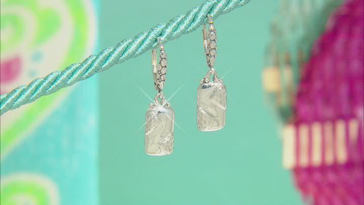 "Sterling Silver ""Overflowing With Joy"" Earrings"