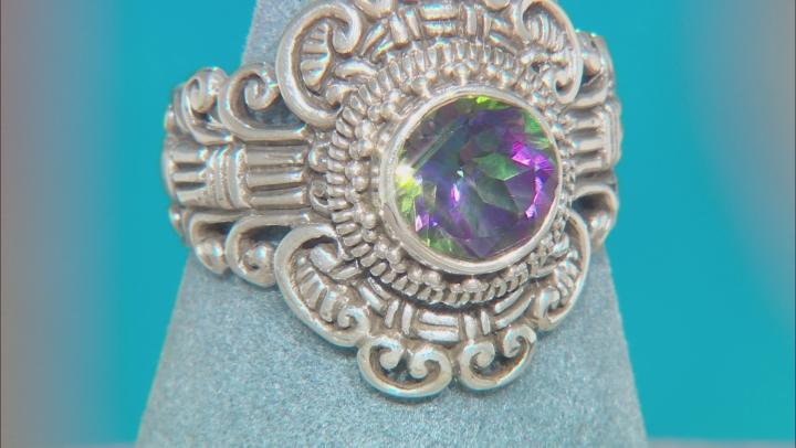 Odyssey Green™ Quartz Silver Ring 1.62ct