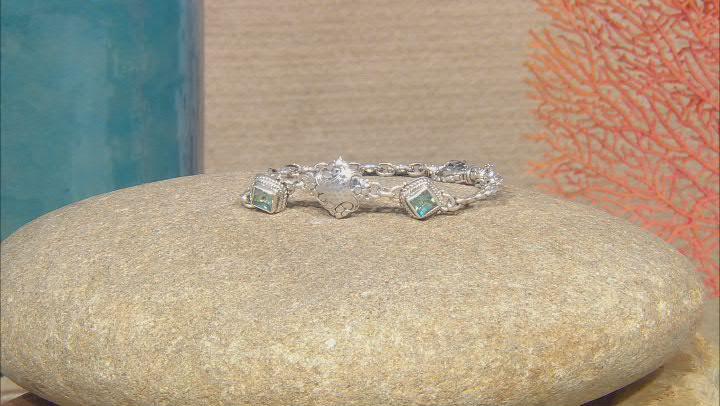Citrus Splash™ Topaz Silver Bracelet 2.30ctw