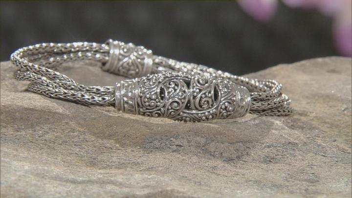 Sterling Silver Knot Bracelet