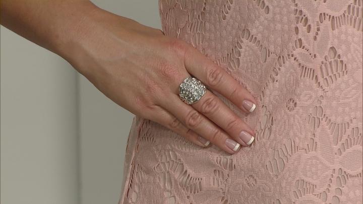 Sterling Silver Flower Ring