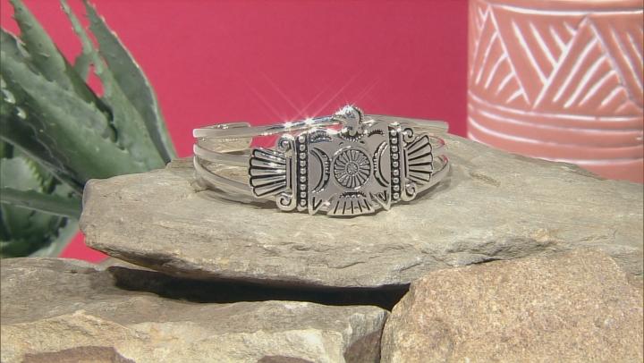 Eagle Sterling Silver Cuff Bracelet