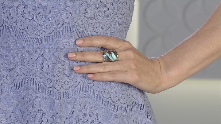 Turquoise Kingman Sterling Silver Ring