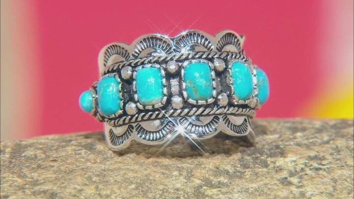 Blue Arizona Turqoise Sterling Silver Ring