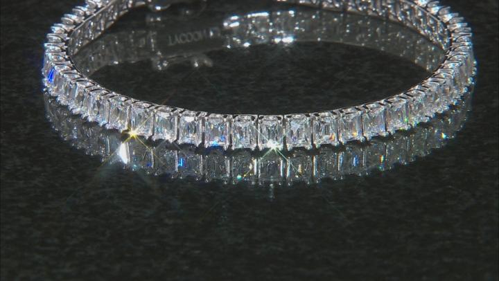 White Cubic Zirconia Platineve Bracelet 16.74ctw
