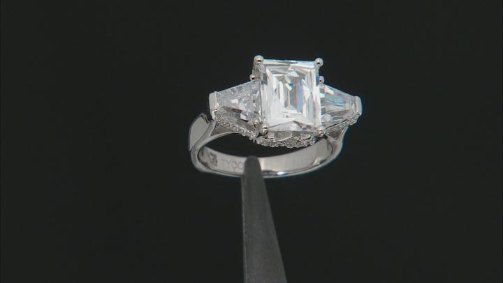 Cubic Zirconia Platineve Ring 8.97ctw