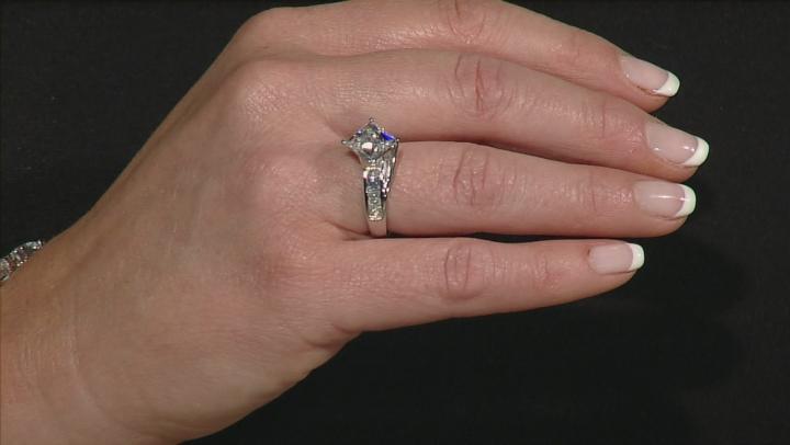Cubic Zirconia Platineve Ring 6.25ctw