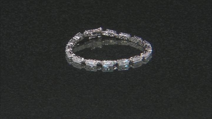 White Cubic Zirconia Platineve Bracelet 21.02ctw