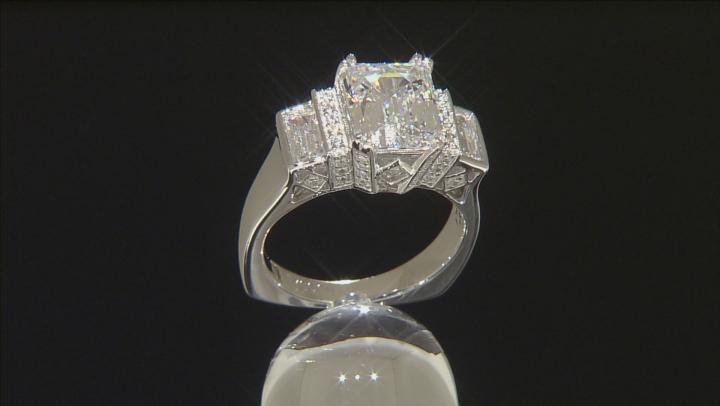 White Cubic Zirconia Platineve Ring 7.49ctw