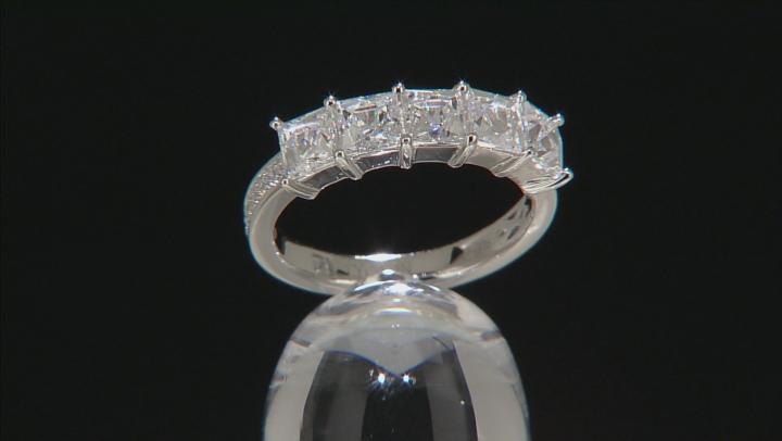 White Cubic Zirconia Platineve Ring 3.16ctw