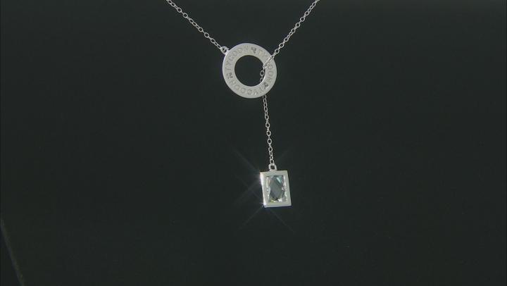 Cubic Zirconia Platineve Necklace 2.36ct (1.74ct DEW)